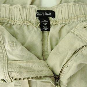 White House Black Market Pants - White House Black Market linen blend pants jogers